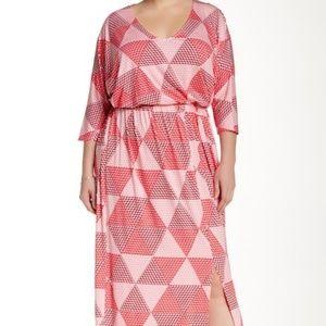 White Label by Rachel Pally.  Roth Print Dress.